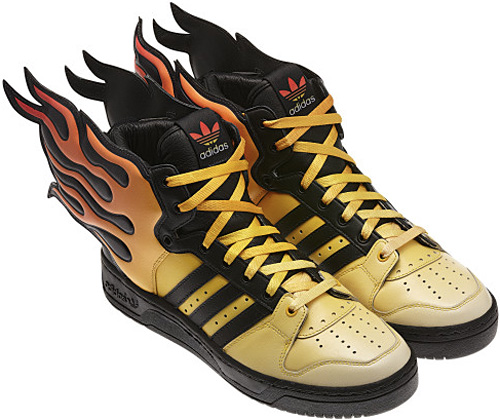 Harry Hilders - Adidas Jeremy Scott Flames