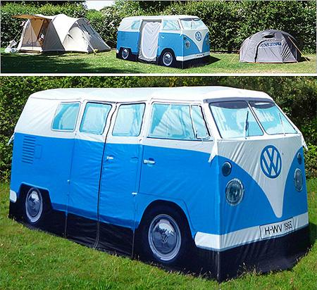 Harry Hilders - VW Camper tent