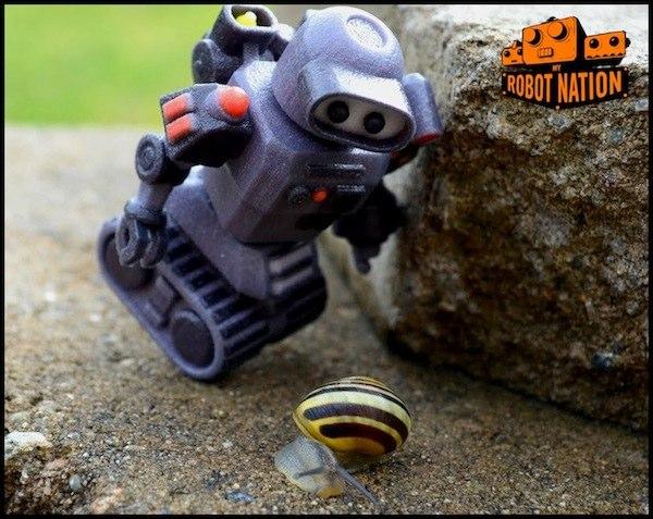 Harry Hilders - My Robot Nation