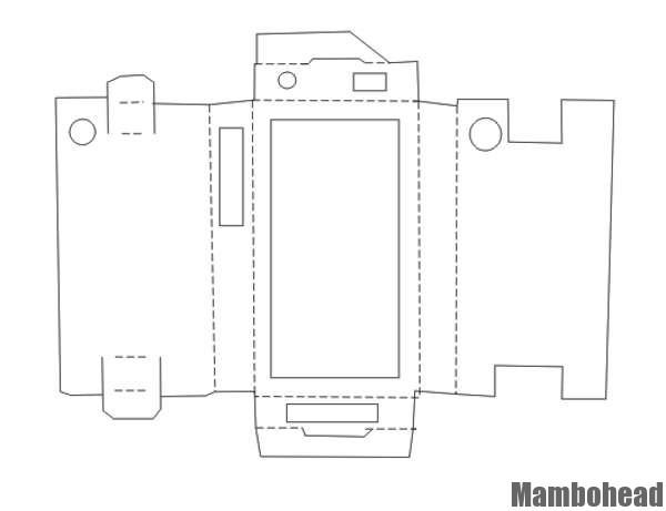 Harry Hilders - karton iPhone hoesje