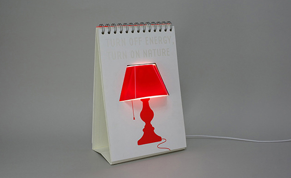Harry Hilders - Page by Page lamp